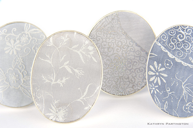 Brooches from the Ethereal Collection by Kathryn Partington