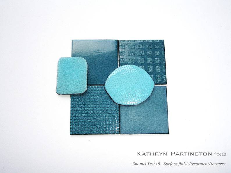 Cloisonne Enamel Tests - Playful composition (15) © Kathryn Partington