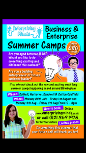 Summer Camps with Enterprising Minds