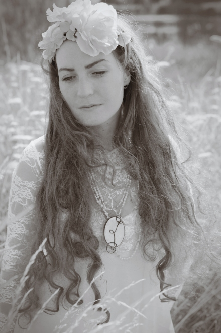 Victorian inspired, pearls, neckpiece, Milly Winter, Kathryn Partington, Gareth Partington