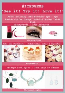 IcedGems, Jewellery, Cake, Beauty, See it, Try it, Love it, BeautyFaves, Kake and Cupkakery, Kathryn Partington, Cakes, Avon