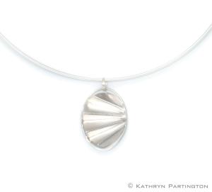 Silver Collar, Silver Choker, Betty Said, Art deco, Necklace
