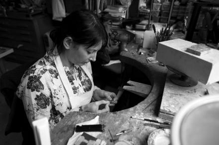 Jeweller, Kathryn Partington, Portrait, Photograph, Gareth Partington, Photographer