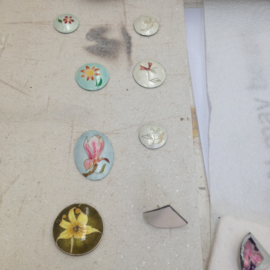 Penny Gildea, Enamelling, Cloisonné, The British Society of Enamellers